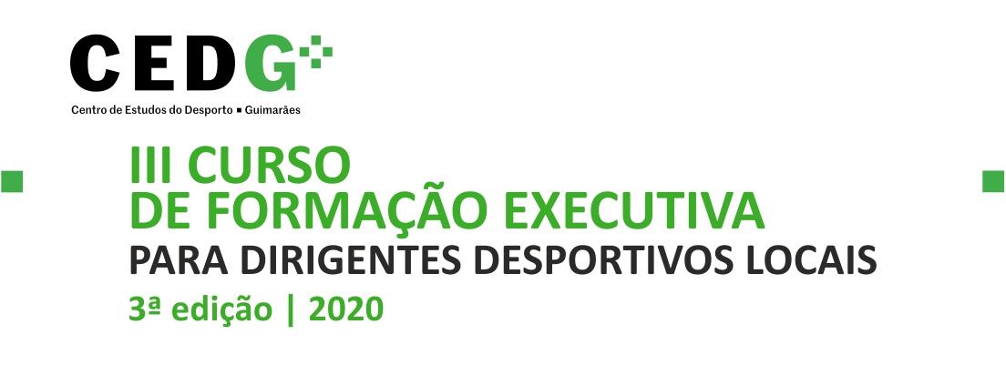 CURSO DE FORMAÇÃO EXECUTIVA PARA DIRIGENTES DESPORTIVOS