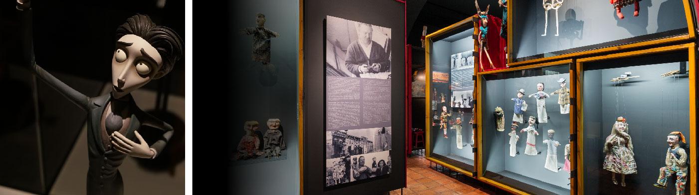 MUSEU DA MARIONETA + EXPOSIÇÃO TIM BURTON