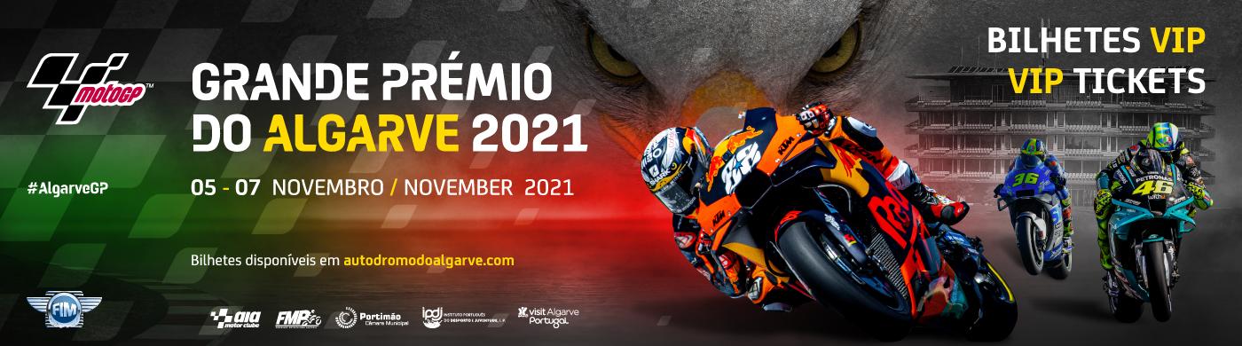 GRANDE PRÉMIO DO ALGARVE 2021 - MOTOGP VIP