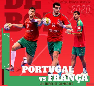 PORTUGAL - FRANÇA QUAL. CAMP. EUROPA